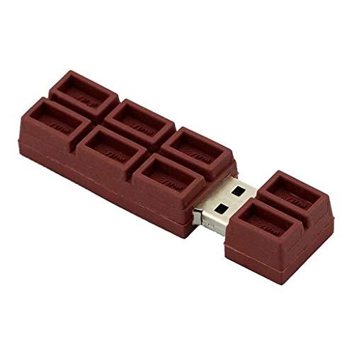 Clé USB carrés de chocolat