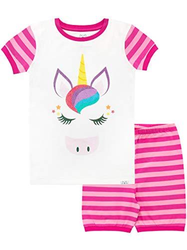 Harry Bear Pijama Corta niñas Unicornio Rosa 12-13