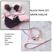 Eggs Tail Bow Metal Bụtt Anạl Plụg Erotic Accessories Cute Soft Cat Ears Headbands Aạult sẹx Tọys Cosplay Collar And Chain-I