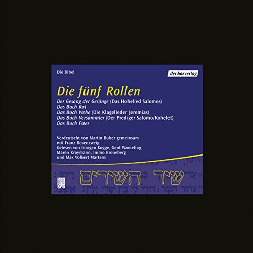 Die fünf Rollen audiobook cover art