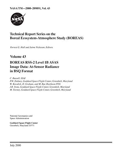 BOREAS RSS-2 Level-1B ASAS Image Data: At-Sensor Radiance in BSQ Format (English Edition)