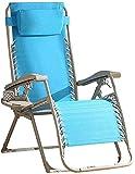 Sillas de salón para Patio Sillón reclinable Plegable Sillas de Cubierta de Gravedad Cero Tumbonas de jardín y Playa Sillón Relajante con portavasos