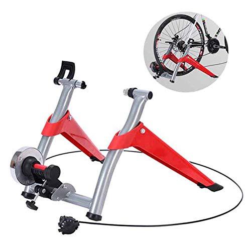 TANCEQI Entrenador De Bicicleta Ejercicio Interior Entrenamiento Hogar Resistencia Magnética 6 Velocidades...