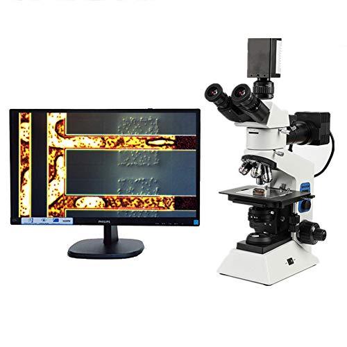 LRZ Aumento 10X-5000X, microscopio de Laboratorio Compuesto de Grado de investigación, Etapa mecánica, detección y análisis de Instrumentos ópticos de Alta Potencia