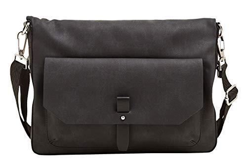 Esprit Isa Flap Over Shoulderbag Black