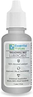 Essential Values Treadmill Belt Lubricant - Silicone Universal Treadmil Belt Lube,
