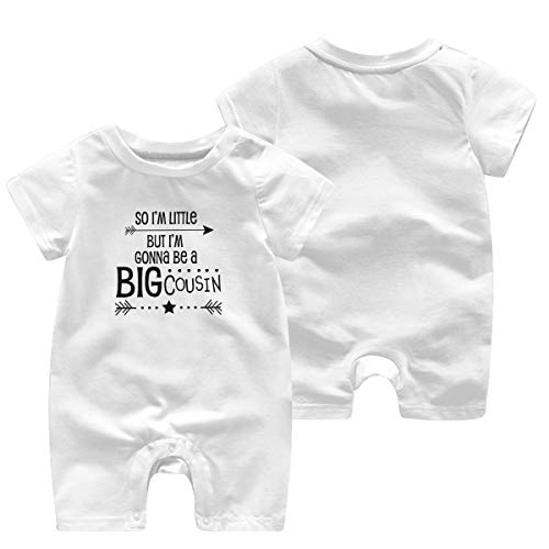 Huahai Child - Pantalones cortos para bebé, diseño de niña, blanco, (18M) EU