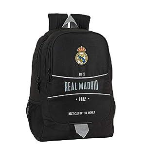 41DmuxxVwfL. SS300  - Mochila Safta Escolar de Real Madrid, 320x160x440mm, Multicolor