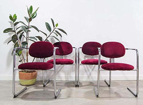 Conjunto de sillas comedor, estilo vintage industrial, clásicas y elegantes. Conjunto Vintage...