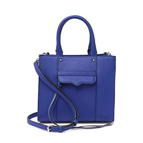Rebecca Minkoff Bright Blue Leather Mini MAB Tote