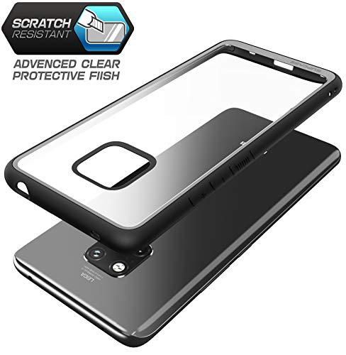 SupCase Huawei Mate 20 Pro Hülle Premium Handyhülle Hybrid Case Transparent Schutzhülle Backcover [Unicorn Beetle Style] für Huawei Mate 20 Pro/LYA-L29 (6.39 Zoll) 2018 (Schwarz)