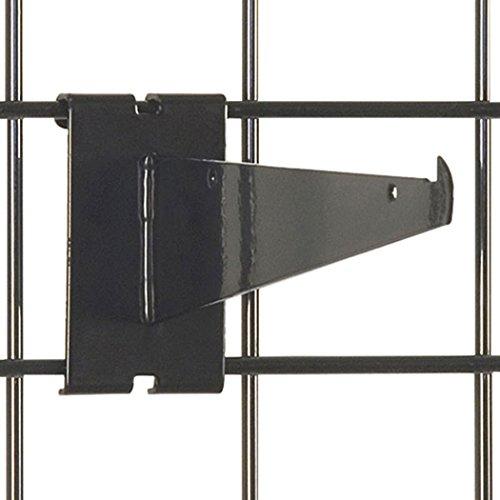 KC Store Fixtures A04602 Gridwall Shelf Bracket, 8
