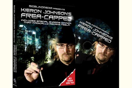 Frea-capped (DVD and Gimmicks) by Kieron Johnson and Big Blind Media - Trick
