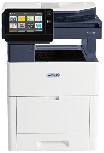 Xerox VersaLink C505V_S Multifunktionsgerät Laser 43 Seiten pro Minute 1200 x 2400 DPI A4 Multifunktionsdrucker (Laser, 1200 x 2400 DPI, 700 Blatt, A4, Direktdruck, Schwarz, Blau, Weiß