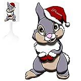 Lámpara de noche infantil de creación, conejo 1, personalizable con...