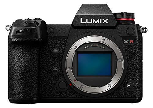 Panasonic Lumix S1R Body Boîtier MILC 47,3 MP CMOS 6000 x 4000 Pixels Noir - Appareils Photos numériques (47,3 MP, 6000 x 4000 Pixels, CMOS, 4K Ultra HD, Écran Tactile, Noir)