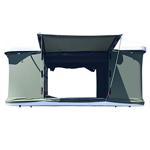 Hydraulische automatische Geländewagen Dachzelt Hartschalen-Außenselbstfahr Tour Doppel Camping wasserdichte weiße Schale Falten Camping