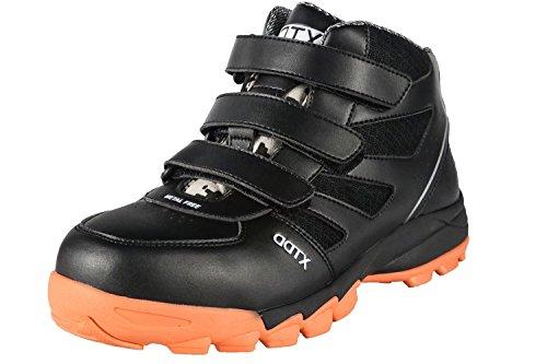 DDTX Botas de Seguridad Hombre (Puntera Compuesta,Entresuela de Kevlar,Aislamiento) Zapatos de Trabajo...