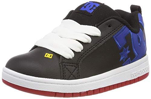 DC Shoes Jungen Court Graffik Skateboardschuhe, Mehrfarbig (Navy/Blue/White NAV), 38 EU