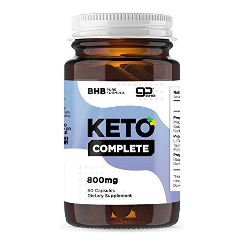 Keto Complete 60 Capsules Ketogenic Energy Fat Burning