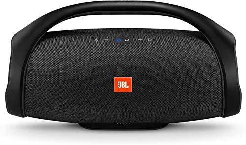 Boombox - Altavoz Bluetooth portátil, Resistente al Agua IPX7, con Manos Libres, WiFi, JBL Connect+, hasta 24 Horas de autonomía, Color Negro