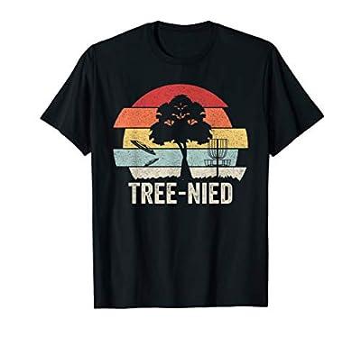 Vintage Retro Tree-Nied Shirt Funny Disc Golf T-Shirt