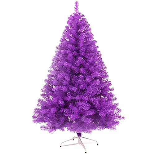 YGCLTREE Árbol de Navidad de Abeto Artificial, Blanco Nieve Blanco Natural, Material...