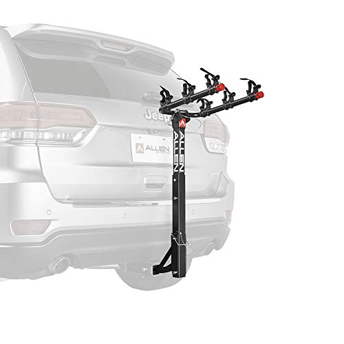 Allen Sports Deluxe 3-Bike Hitch Mount Rack, Model 532RR-R