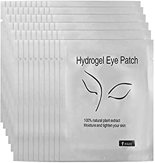 Under Eye Pads, Hydrogel Eye Pads, Comfy and Cool Under Eye Patches Gel Pad for Eyelash Extension Eye Gel Patches Collagen Eye Mask (Silver 50pcs) lsmaa (Color : Silver 50pcs)