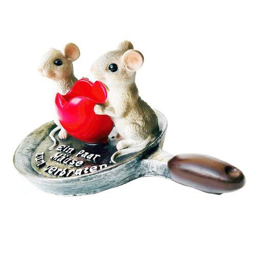 art decor Geldgeschenk, Spardose EIN Paar Mäuse zum verbraten - 3