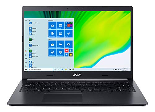 Acer Aspire 5 A515-44-R7EC Pc Portatile, Notebook con Processore AMD Ryzen 3 4300U, Ram 8 GB DDR4, 256 GB PCIe NVMe SSD, Display 15.6' FHD LED LCD, AMD Radeon, Windows 10 Home in S mode, Nero