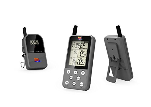 Maverick ET 733 Gray Long Range Wireless Dual Probe BBQ Smoker Meat Thermometer Set