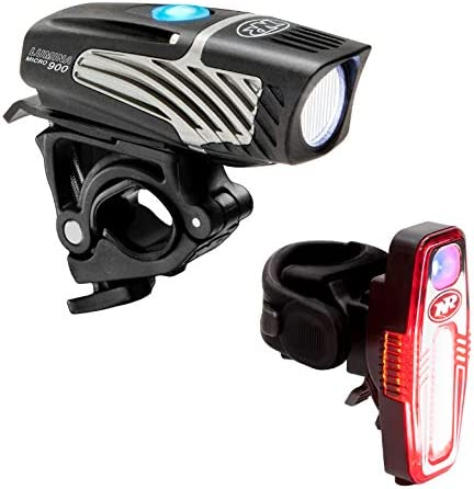 NiteRider Lumina Micro 900 Front Bike Light Sabre 110 Rear Bike Light Combo Pack USB Rechargeable product image