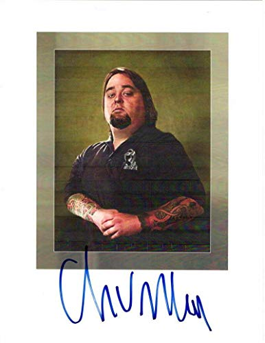 Chumlee Signed Autograph Mini Poster - Pawn Stars