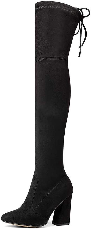 Aimint EZR00520, Damen Durchgängies Plateau Sandalen mit mit mit Keilabsatz, Schwarz - Schwarz - Größe  EU 36  8f41f4