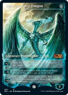 Magic: The Gathering - Ugin, The Spirit Dragon - Showcase - Core Set 2021