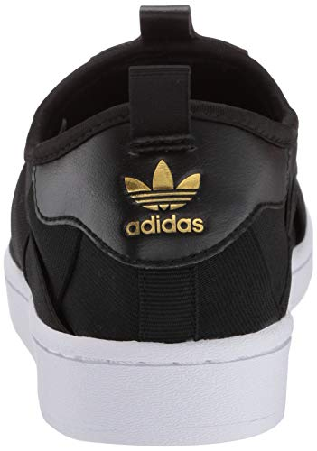 adidas Originals Zapatillas Deportivas Superstar Slip on para Mujer, Color Negro, Talla 36 EU