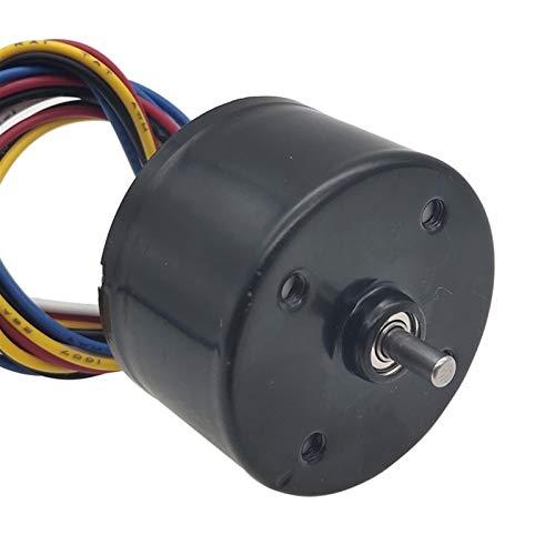 Lruirui-Motor DC Motores de Alta Velocidad de DC de 3525 Micro Mini Mini, con regulación de Velocidad PWM, 12 voltios invertidos en el Motor BLDC DC, Larga Vida útil