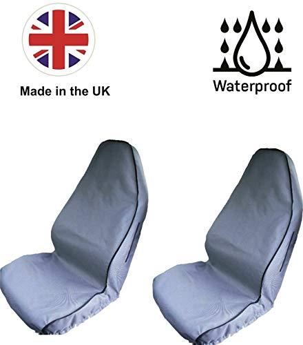 The Urban Company - Fundas de asiento impermeables para Tata Indica Aria (10-17), color gris