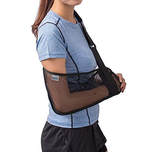 TODDOBRA Mesh Arm Shoulder Sling - Medical Shoulder Immobilizer for Shower - Adjustable Arm Brace for Torn Rotator Cuff Injury - Right Left Arm for Men Women - Shower Sling for Elbow, Wrist-3pcs
