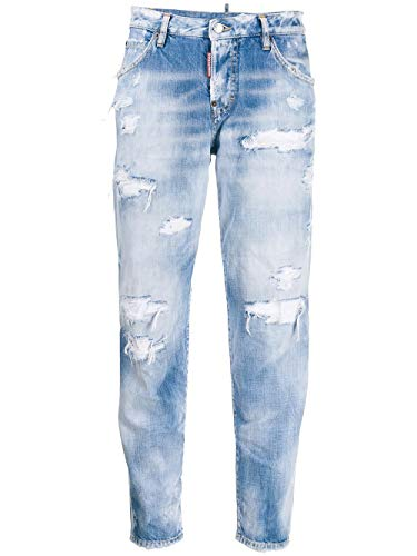 Luxury Fashion | Dsquared2 Dames S72LB0265S30309470 Blauw Elasthaan Jeans | Lente-zomer 20