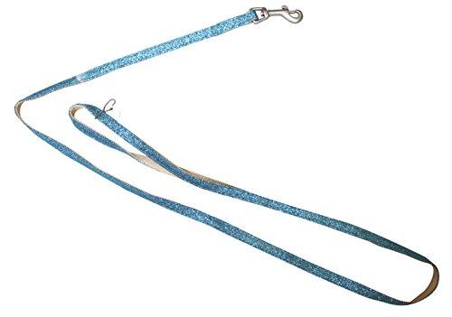 Croci C5080568 Leine Glitter, hellblau