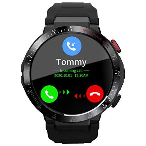 APCHY Reloj Inteligente Smartwatch para Hombre,Rastreadores De Actividad De 4G, 800 W, Píxeles Pantalla Grande De 1.6 Pulgadas Rastreadores De Actividad Física De Frecuencia Cardíaca