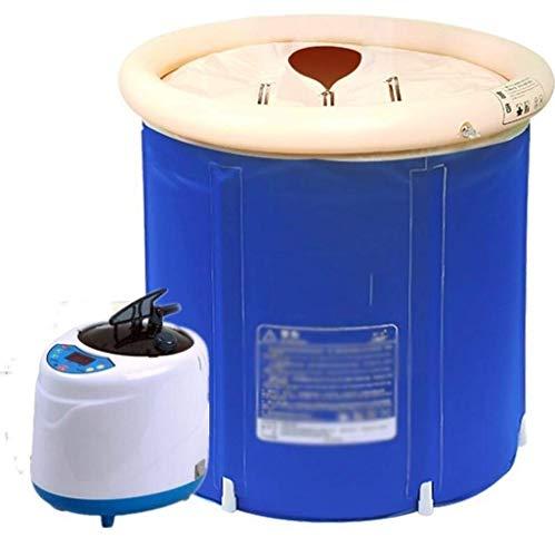 Productos para el hogar Cama Plegable Fácil Almacenamiento Sauna de Vapor Plegable portátil Una Persona Sauna en casa SPA para Todo el Cuerpo Adelgazamiento Pérdida de Peso Baño de Sauna en casa Sa