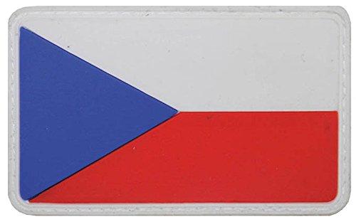 Parche velcro, República Checa, 3D, tamaño: 8 x