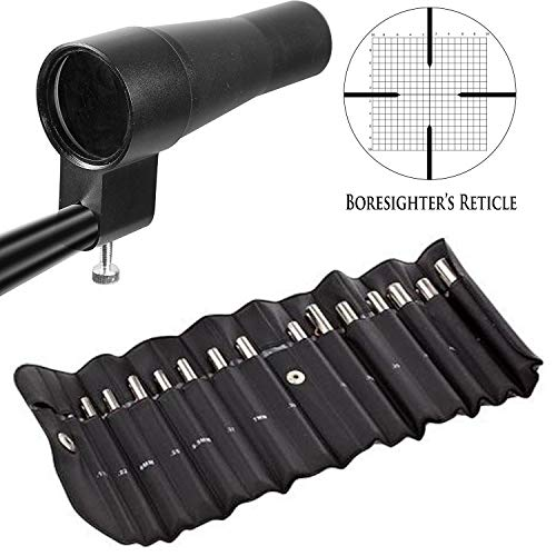 Target House Optics Boresighter Kit, for Calibers from .177 to .50