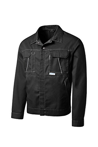 PIONIER WORKWEAR Herren Bundjacke Eco Colour in schwarz (Art.-Nr. 3293)