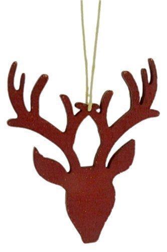 Coingallery East of India à Suspendre Rouge Tête de cerf Décoration de Noël