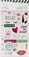 Heidi Swapp (ハイディスワップ) Sticker カラーフレッシュ - メモリープランナー - Sticker Book (1,042 ピース)