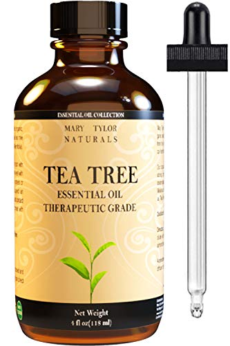 Tea Tree Essential Oil (4 oz), 100% Pure Essential Oil, Therapeutic Grade, Melaleuca alternifolia by Mary Tylor Naturals